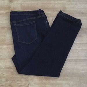 Old Navy Straight Leg Dark Wash Jeans size 20